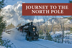 Polar Express, aka Journty To The North Pole, at Christmas Farm Inn and Spa