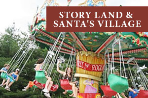 Storyland hotels at Christmas Farm Inn and Spa