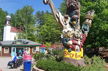 New Hampshire Scenic Drives Story Land Hotel Packages