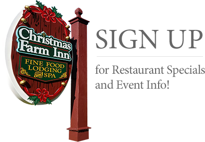 The Christmas Farm Inn & Restaurant in Jackson NH logo