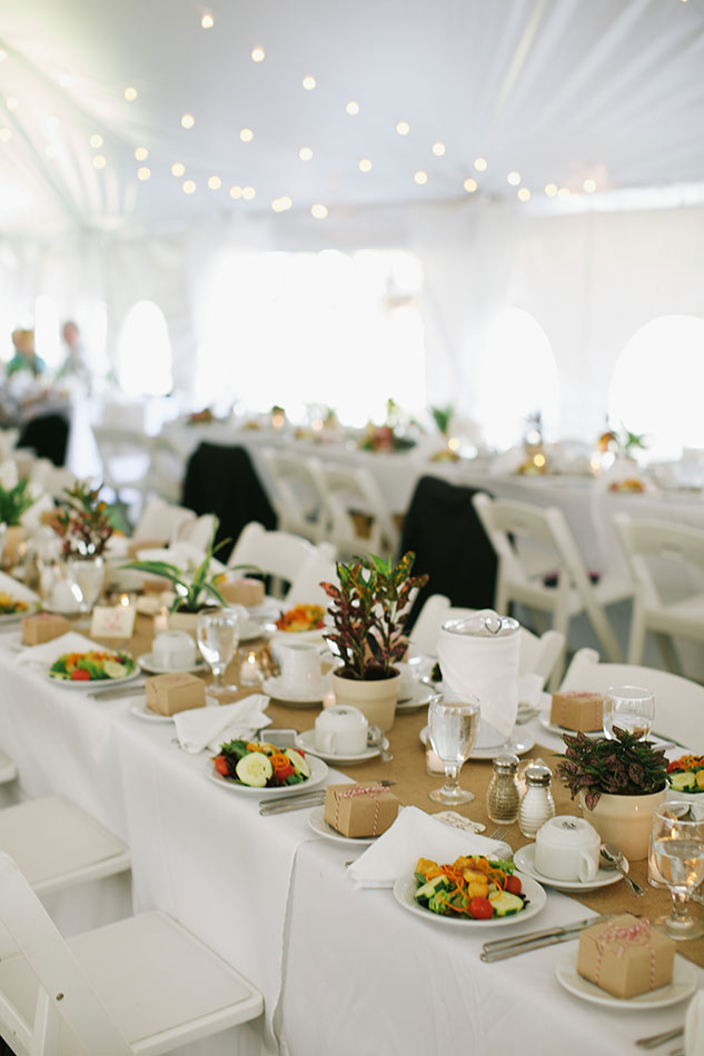 Jackson NH tent wedding