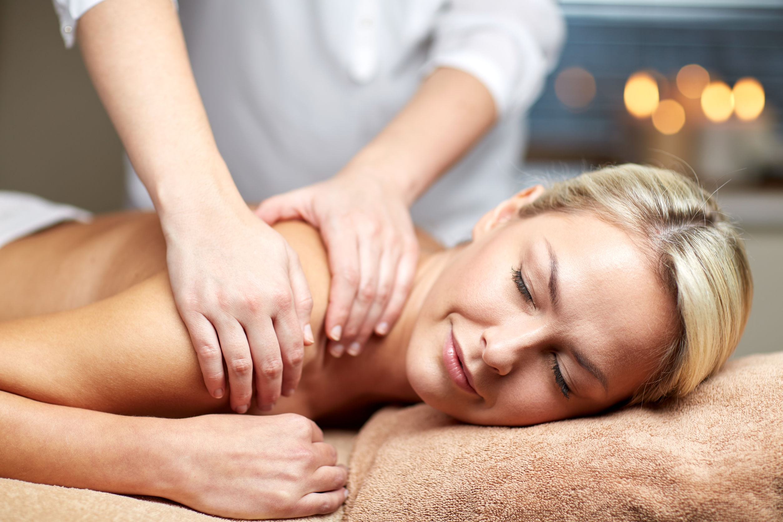 massage at the Christmas Farm Inn Spa