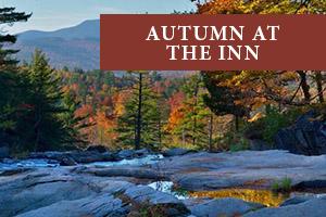 White Mountain Fall Foliage at our New England Inn