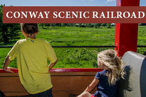 Conway Scenic Railroad in North Conway New Hampshire