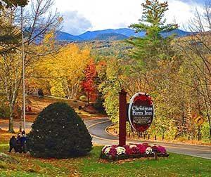 Fall at our Jackson NH Inn