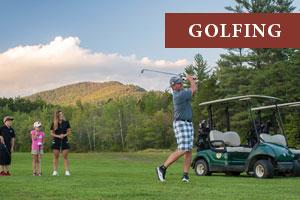 Family Golfing in the White Mountains