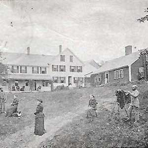 Photo of our Historic Jackson NH Inn from the early 1800s