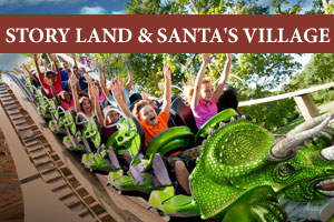Story Land Hotels - only 5 minutes away!