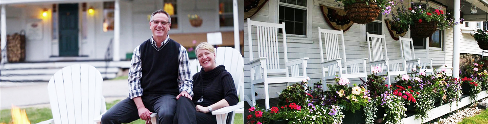 Gary & Sandra Plourde are our Jackson NH Hotel Innkeepers