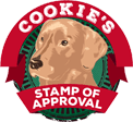 Jackson NH Innkeepers' Dog Cookie Gave Stamp Of Approval on dog-friendly amenities.