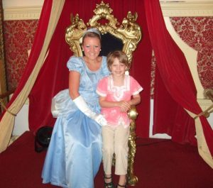 Story Land Hotel photo shows child with Cinderella