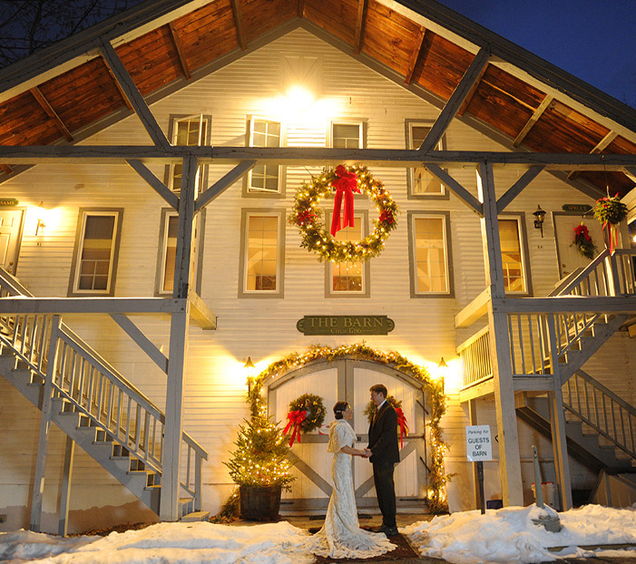 Rustic Weddings & Barn Wedding Venues Jackson NH - Wedding Venues Jackson NH Christmas Farm Inn & Spa