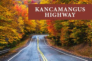 Kancamangus Highway for scenic drives in the fall