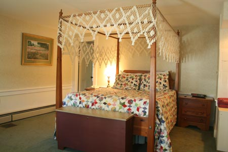 Saltbox Hotel Room called Holly at our Inn in Jackson NH