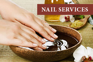 nail services at Christmas Farm Inn Spa