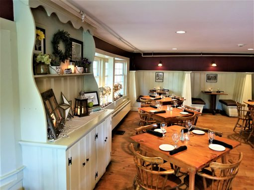 Interior of Our Jackson NH Restaurant