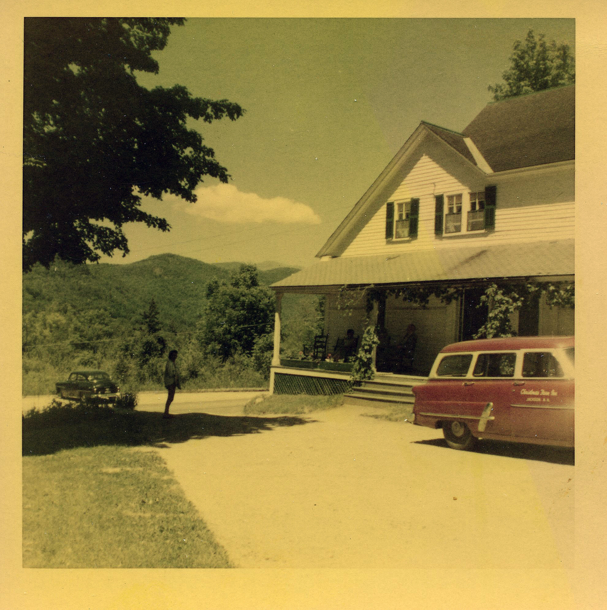 Historical Jackson NH Inn - 1954
