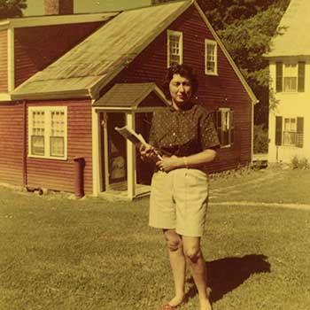 Innkeeper from our Historic Jackson NH Inn in 1954