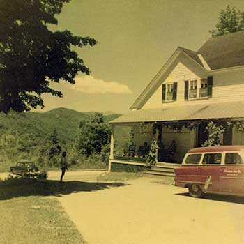 Historical Jackson NH Inn – 1954