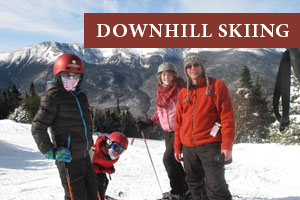 Downhill Skiing in the White Mountains
