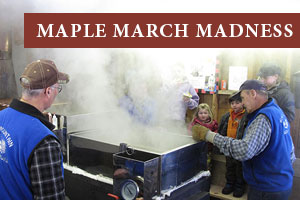 Maple March Madness - Maple Syrup made near Jackson NH