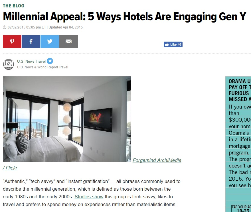 5 Ways Hotels Are Engaging Gen Y