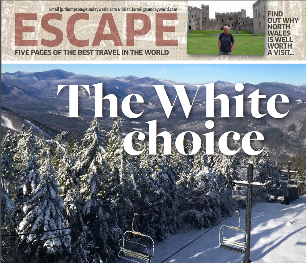 Escape: Five Pages of the Best Travel in the World
