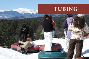 White Mountains Tubing near Jackson NH