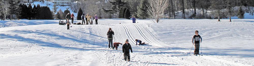 Cross-country skiing Jackson NH
