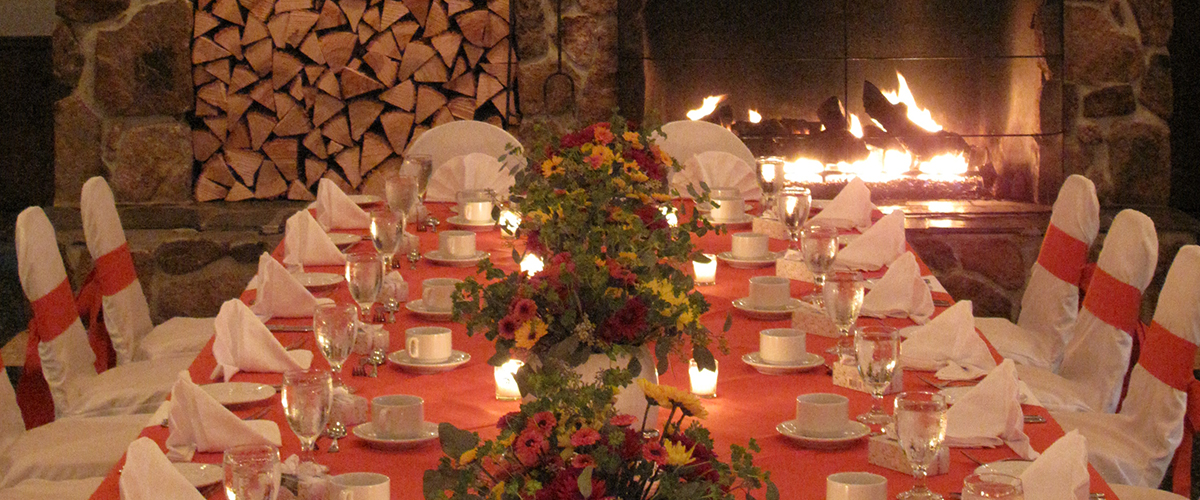 Private events at the barn in Jackson NH
