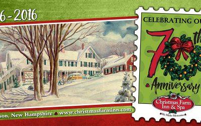 Christmas Farm Inn & Spa Announces 70 Year Anniversary