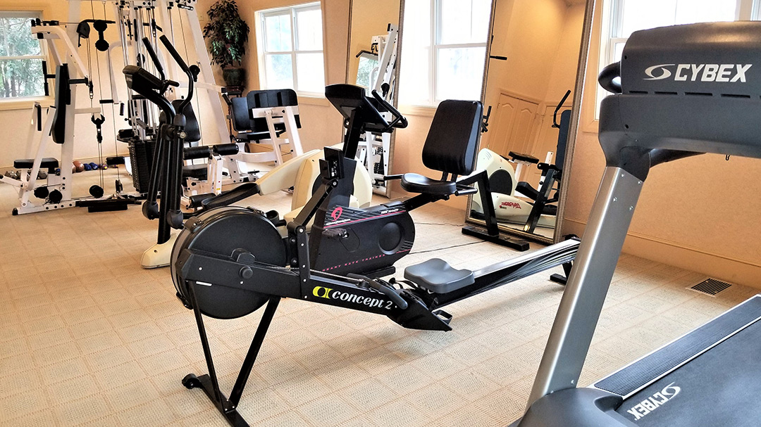 Fitness Center Image at Our Jackson NH Spa Facility in White Mountains