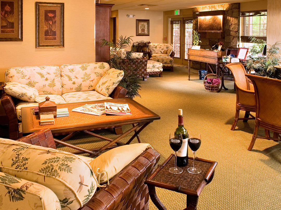 Spa Room at our Spa Facility in Jackson NH