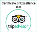Trip Advisor Cretificate of Exellence for Jackson NH Restaurant
