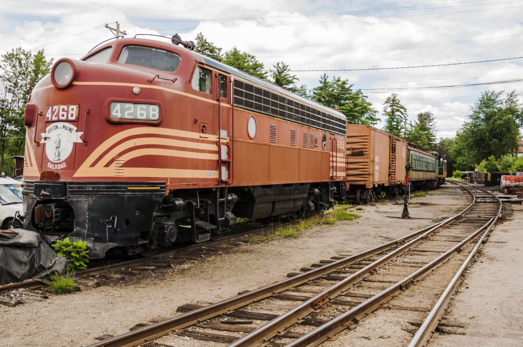 Enjoy New England through the many North Conway attractions like the Conway Scenic Railroad.