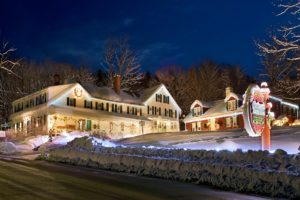 Christmas Farm Inn featured in Lonely Planets 10 US Towns Where You Can Live Your Own Hallmark Christmas Movie.