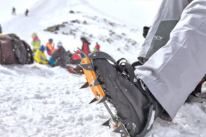 Enjoy White Mountains winter with special gear like crampons
