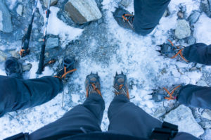 Crampons and microspikes can make White Mountains winter adventures more accessible!