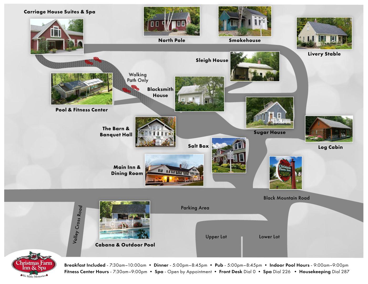 White Mountains Resort Property Map
